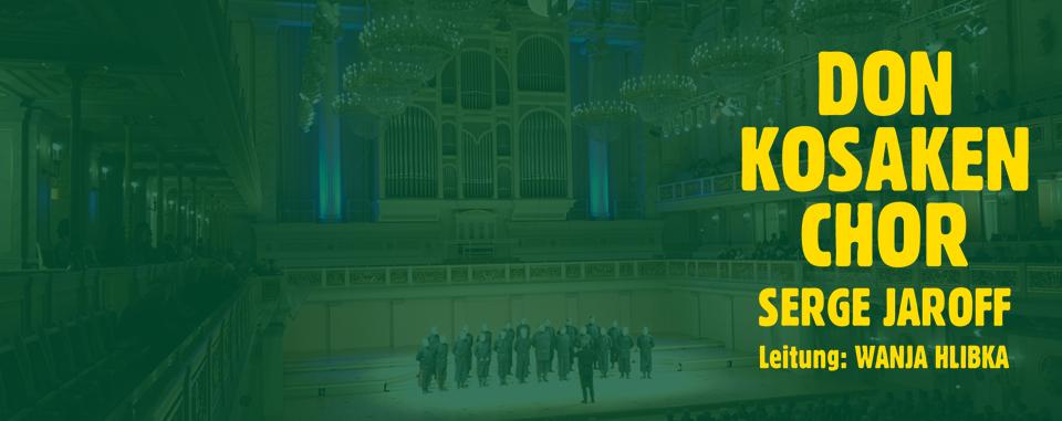 Don Kosaken Chor Serge Jaroff ® Leitung: Wanja Hlibka